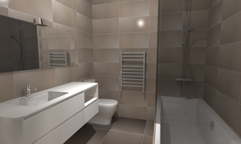 Small Bathroom Classic Bathroom Eurotiles & Bathrooms