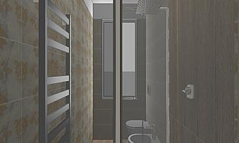 bagno piccolo russo giuse... Classic Bathroom salvatore frezza