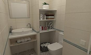 NUESTROPEQUEÑOPALACETE Klasický Koupelna BdB PROFIM ADAPPTA