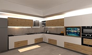 Cucina Zen 1 Modern Bucătărie Gherardo Settesoldi