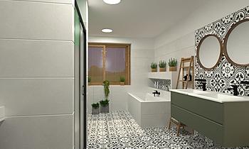 Kovářová Moderní Koupelna Lucie Nosková