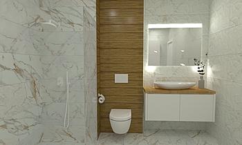 Bistrot Calacatta Michela... Klasický Koupelna Studio Sense