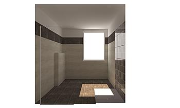BAGNO CEMENTO RASATO Modern Bathroom GUIDO SOFFRITTI