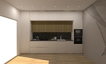 benc Modern Bucătărie LAKD Lattanzi Kitchen Design