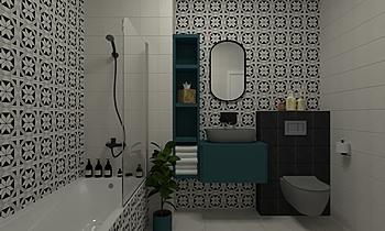 LI28 Moderní Koupelna Janka Pályi