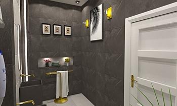 mohamed bin srkal Moderní Koupelna ahmed gharib
