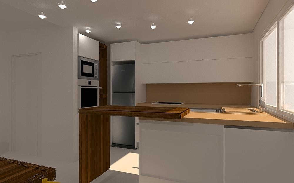 piso coruña Modern Kitchen CESAR  COCINA Y BAÑO