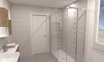 baño insaf 3d Classic Bathroom Francisco jose rodriguez