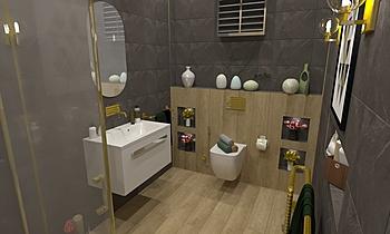 bath majis madam Moderní Koupelna ahmed gharib