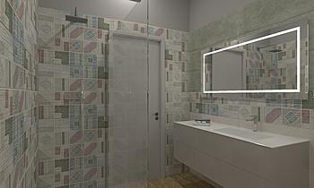 Bagno Contemporary Bathroom  AmbienteBagno  Antichi