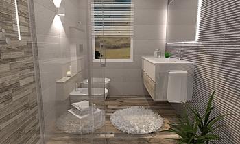 FADDA DILETTA Moderní Koupelna Ceramiche Masala sas