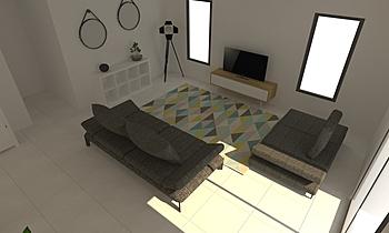 DE OLIVEIRA Moderno Sala LIVING STORE NANTES