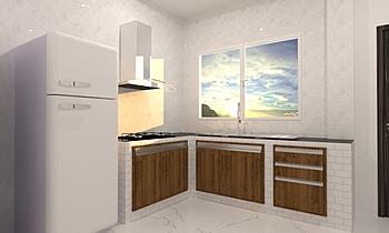 kitchen Ranoo Clasic Bucătărie Tikampon  Rattanachanchai
