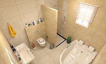Master Bathroom Středomořský Koupelna Zarrugh Company
