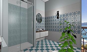 Bagno Sardinia Classic Bathroom Silvia Solari