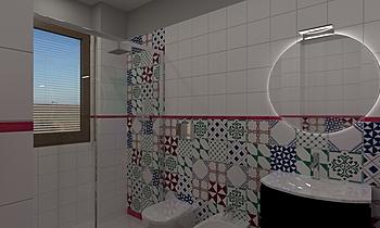 Bagno Finestra Mediterranean Bathroom  AmbienteBagno  Antichi