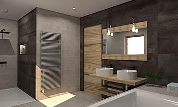 Polus-Digiacomantonio (Pe... Moderní Koupelna Céline Burton