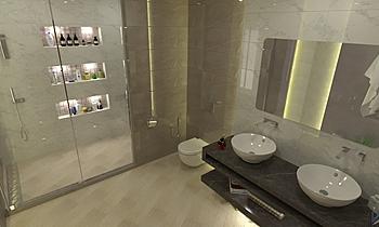 Haji shaker Klasický Koupelna Rashid Rushdi