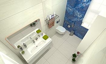 Guest Bathroom Moderní Koupelna Zarrugh Company