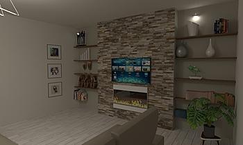 Celesti Salone Contemporary Living room Antonino Stracuzzi