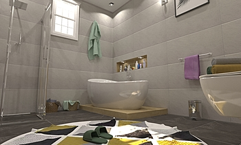 hasan master Modern Bathroom ahmed gharib