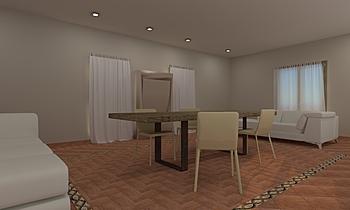Soggiorno Contemporary Living room  AmbienteBagno  Antichi