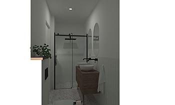 abrahamse badkamer Modern Bathroom Patrick van der Meer