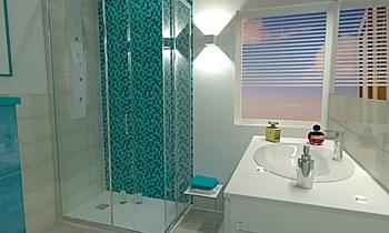 SOTGIU MARCO MANSARDA Modern Bathroom Ceramiche Masala sas