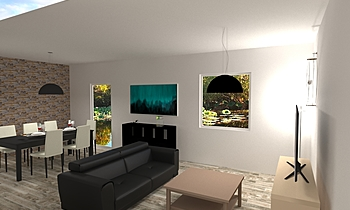 salem Classic Living room fabrice leclerc