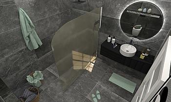 osama bath Moderní Koupelna ahmed gharib