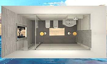 MODER BATH (G&L) 3B Modern Bathroom Gianni Mignone
