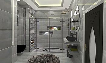 معتصم Moderní Koupelna Ahmed homestyle