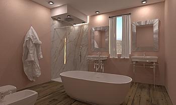 Bagno Sofia Romantický Koupelna  AmbienteBagno  Antichi