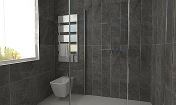 via monza1 piano terra Classic Bathroom Toscano Toscano