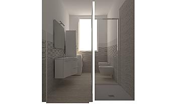 New BAGNO MARVEL_27 lugli... Contemporary Bathroom GUIDO SOFFRITTI