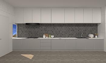 Wet Kitchen Moderno Cucina Feruni Ceramiche Sdn Bhd frspj