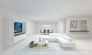 gina_living room Moderní Obývací pokoj Donart Sahiti