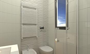 Bagno Lumina 2 Modern Fürdőszoba ROBERTO CAPACCHIONE