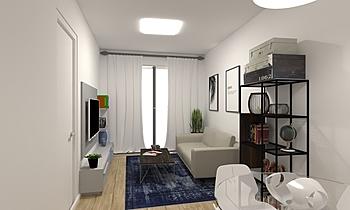 GUILLEM Modern Living room MARIA VIGO