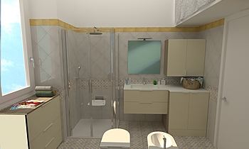 CEMENTINE Gloss Moderní Koupelna Giuseppe Talarico