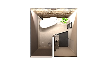BAGNO PT - SOL.2 Classic Bathroom Jessica Branchesi