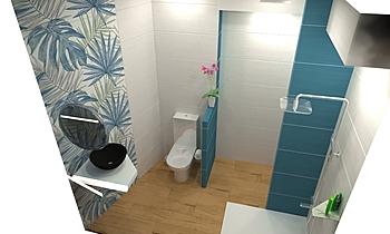 veneta1 Modern Fürdőszoba Philippe Geraldes