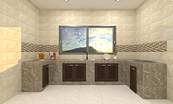 kitchen Moderno Cucina Tulakon Arrom