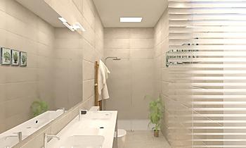 Bany Principal _2 Modern Fürdőszoba BdB GALMÉS