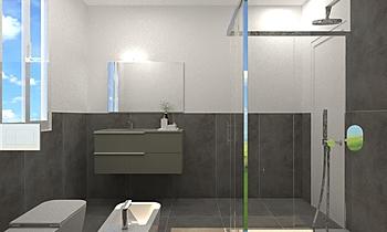 BAGNO - TERANZONI ANDREA Modern Fürdőszoba JESSICA ORAZI