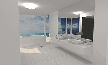 Baie matrimoniala Modern Bathroom Veronica Nicolae