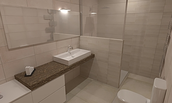 Bathroom thanick2 Modern Fürdőszoba chaloemchai inkaew