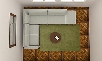 TAPIS VERT Současný Obývací pokoj Alain Rossetti