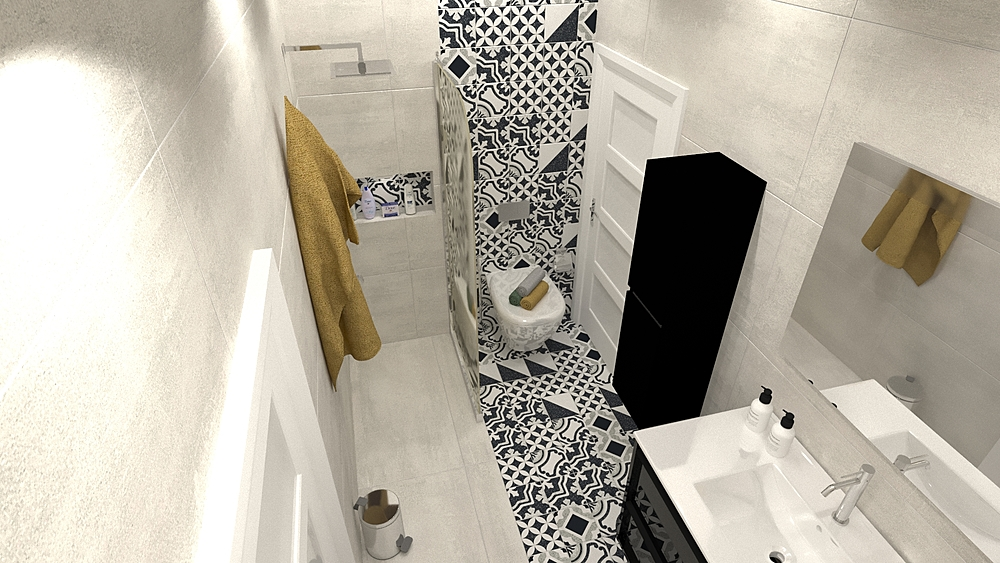 mid room michel Modern Bathroom ahmed gharib