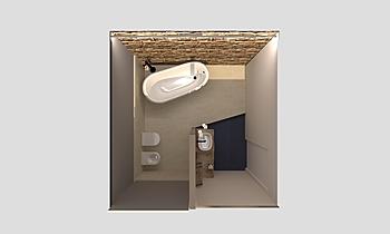 BAGNO PT - SOL.2 Modern Fürdőszoba Jessica Branchesi
